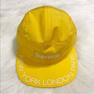 Supreme    Visor Print Camp Cap